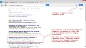 local search domination 300x168 Content: How To Use It To Gain Position In Search Engine Results
